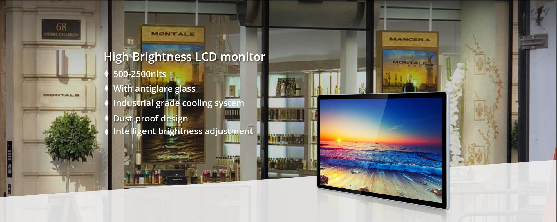 High Brightness LCD Monitor