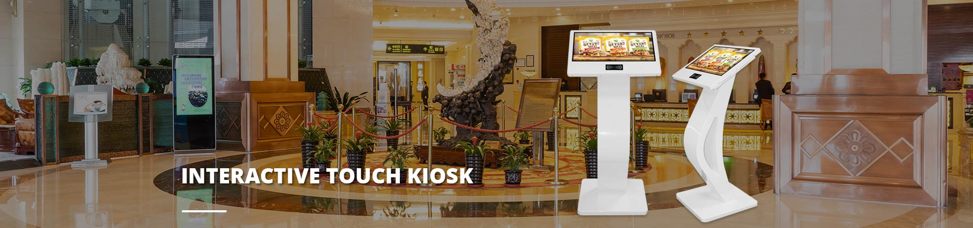 Interactive Touch Kiosk