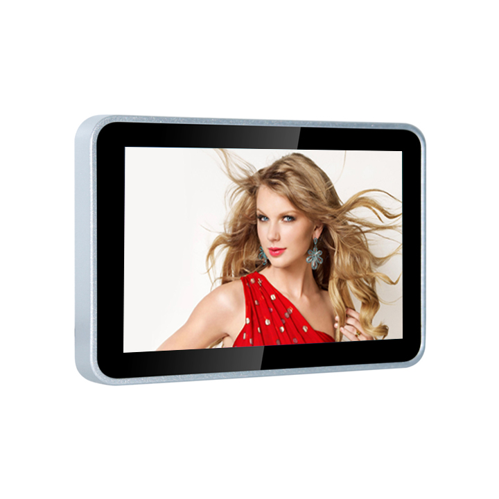 10 Inch Outdoor Wall Mounted Mirror Lcd Advertising Display Board