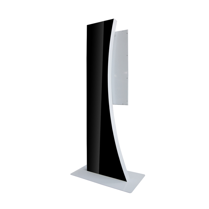32 Inch Floor Standing Lcd Display With Beautiful Curve