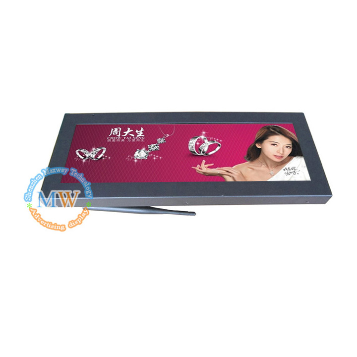 14.9inch Ultra Wide Stretched Bar Lcd Tft Monitor Video Ad Play