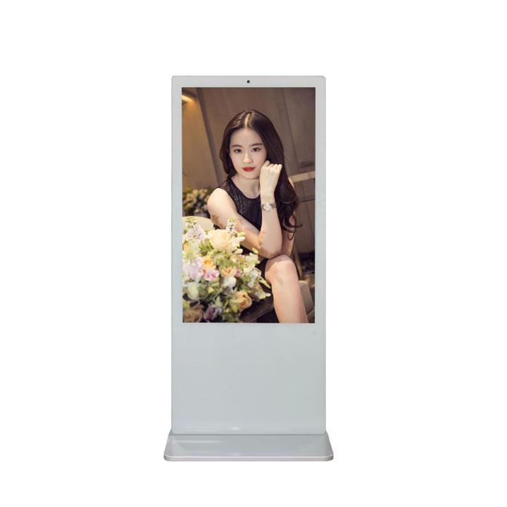 55'' Double Side  Floor Standing Lcd Advertising Display