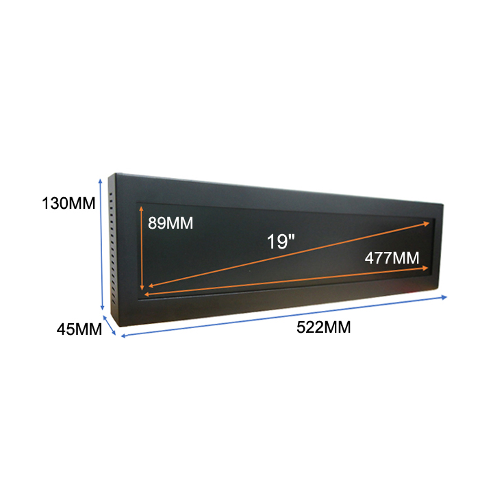 19.1inch Ultrawide Stretched Bar Lcd Tft Monitor Made In China