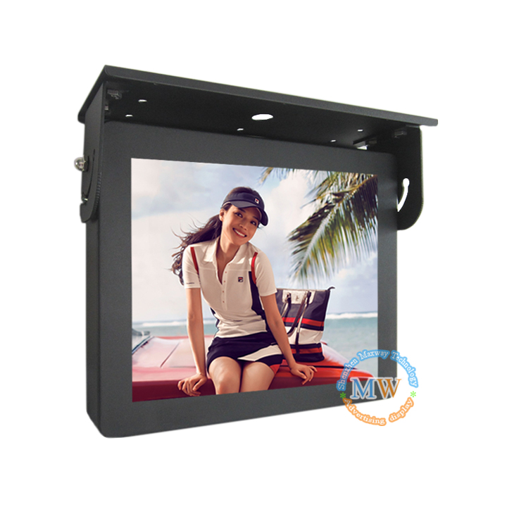 10.4inch High Quality Roof Hanging Lcd Bus Advertising Monitor