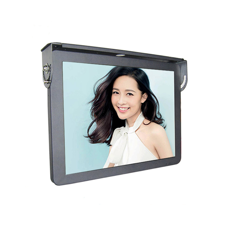 19inch Bus Tv Roof Mounted Lcd Monitor 24V Advertising Player