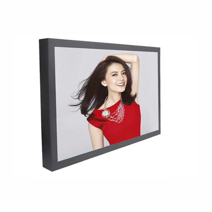 Close Frame LCD Display