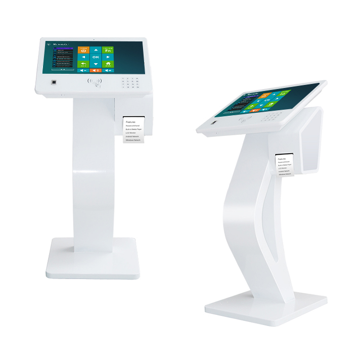 21 5 Inch Free Stand Touch Screen Diy Kiosk With Printer