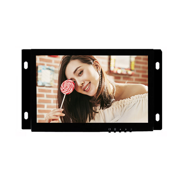 7 Inch Small Size Open Frame Lcd Media Video Player
