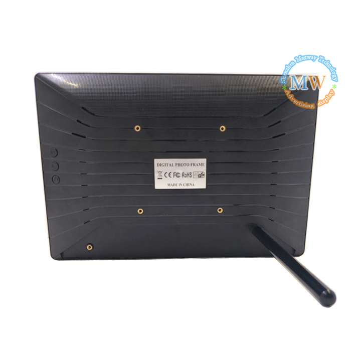 10 Inch Ultra Thin Digital Signage Lcd Advertising Display With Video Input